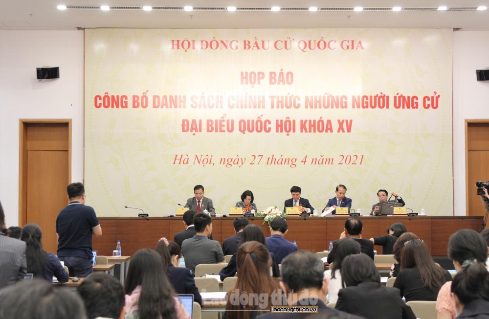 Hà Nội: 14 đại biểu Quốc hội khóa XIV tái ứng cử đại biểu Quốc hội khóa XV