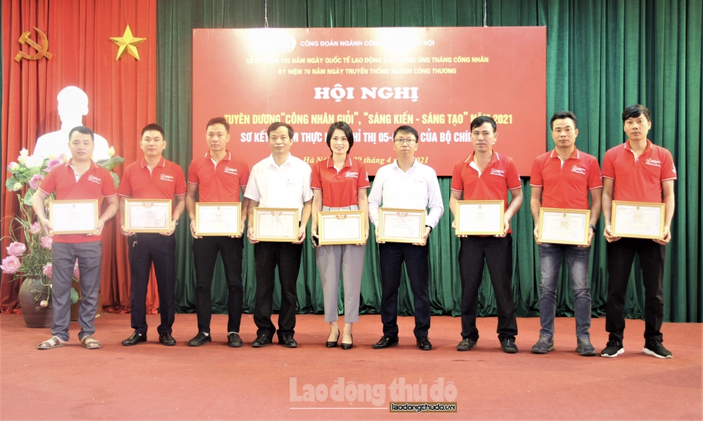 Ngành Công Thương Hà Nội: Lan tỏa các phong trào thi đua trong công nhân viên chức lao động