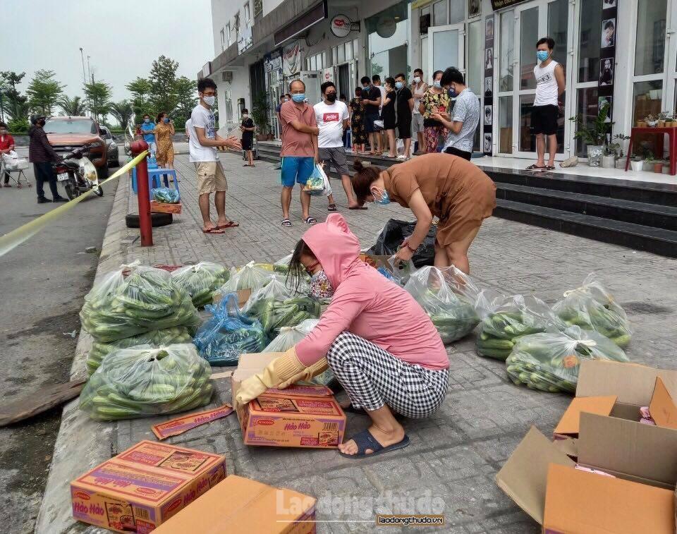 Cư dân khu đô thị Thanh Hà