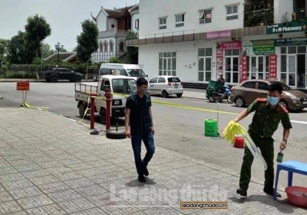 Dỡ phong tỏa tòa nhà HH02B khu đô thị Thanh Hà chỉ cách ly y tế riêng tầng 15