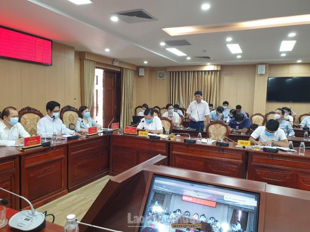 Ứng cử viên đại biểu Quốc hội khóa XV thành phố Hà Nội tiếp xúc cử tri tại huyện Hoài Đức