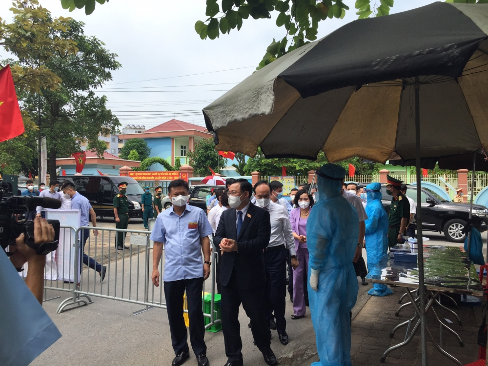 Chủ tịch Quốc hội Vương Đình Huệ: Hôm nay là một ngày rất đặc biệt và trọng đại của Quốc gia
