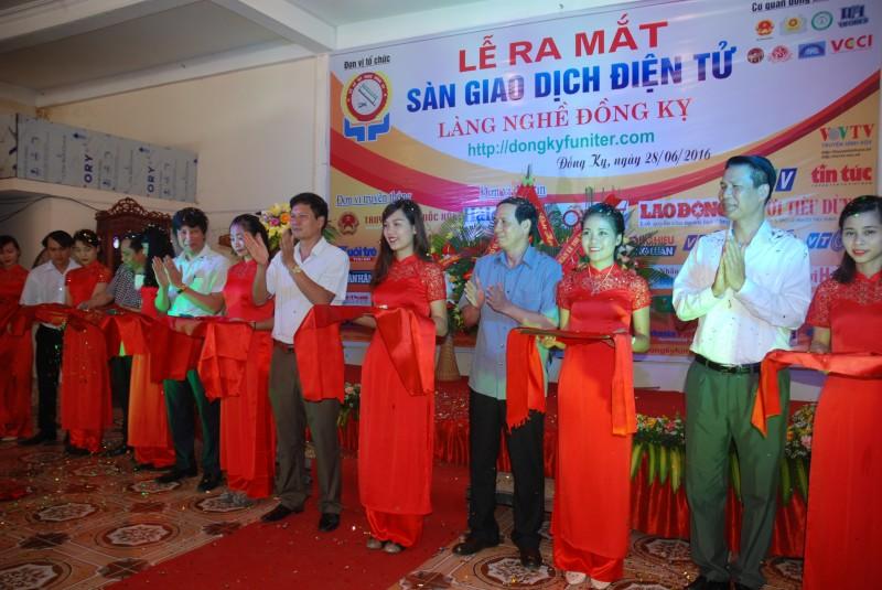 Ra mắt sàn giao dịch điện tử gỗ mỹ nghệ Đồng Kỵ