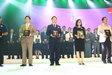 Hòa Bình lọt Top 3 Công ty Kinh doanh hiệu quả nhất VN 2017