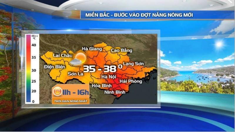 Bắc Bộ tái xuất nắng nóng diện rộng lên tới 38 – 39 độ