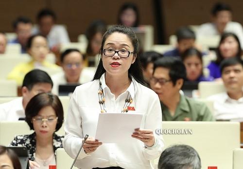 Đại biểu Quốc hội Dương Minh Ánh (Hà Nội): Cần nghiên cứu mô hình đào tạo trực tuyến tại các cơ sở giáo dục