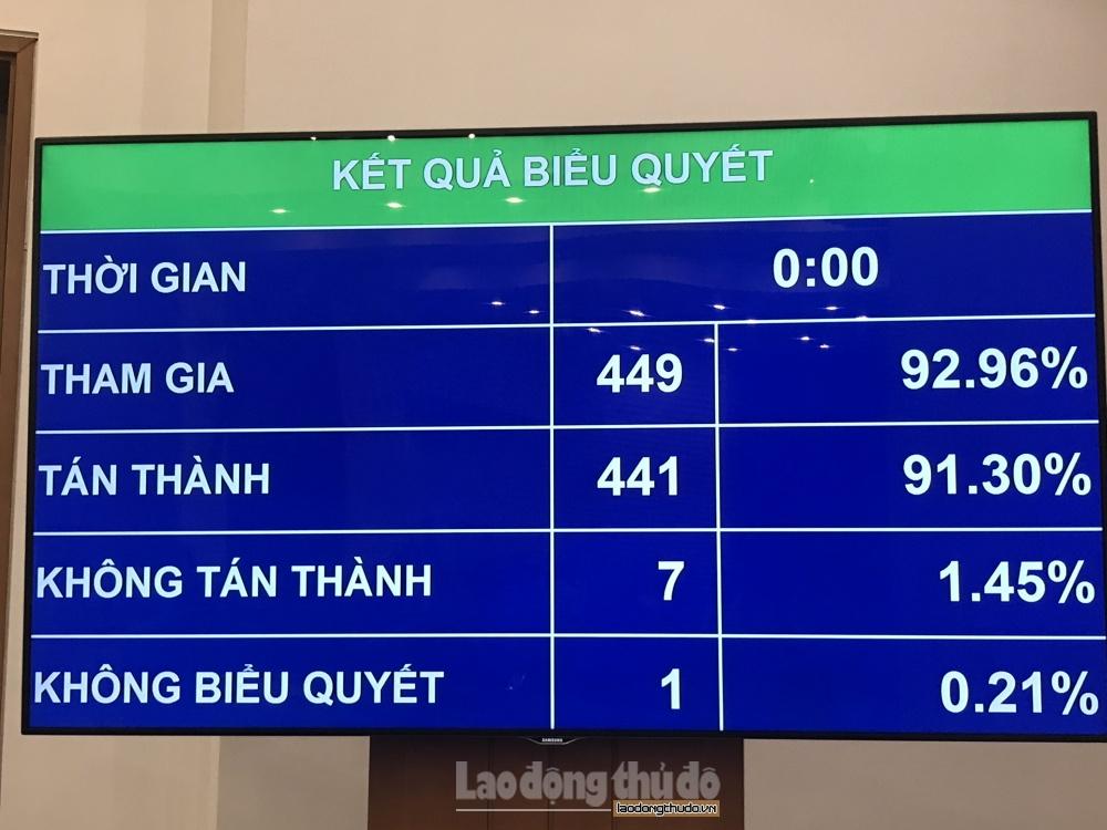 441 dai bieu tan thanh thong qua luat thanh nien sua doi