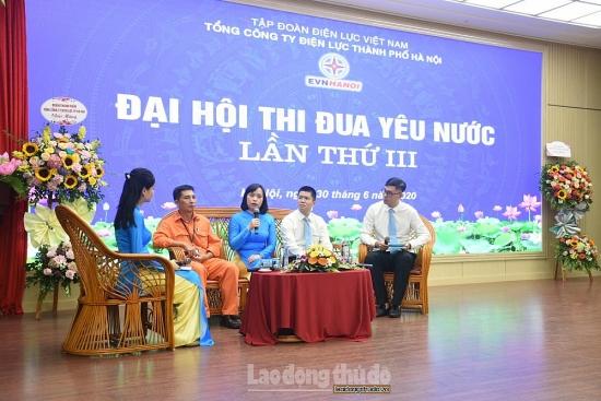Đại hội thi đua yêu nước EVN Hà Nội lần thứ III: Nhân rộng kết quả các phong trào thi đua
