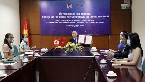 Việt Nam ký thỏa thuận hợp tác với Tổ chức Xúc tiến thương mại TFO Canada