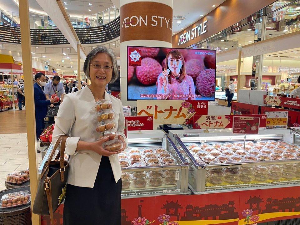 Sau vải thiều, chuối, xoài Việt Nam tiếp tục được quảng bá tại Nhật Bản
