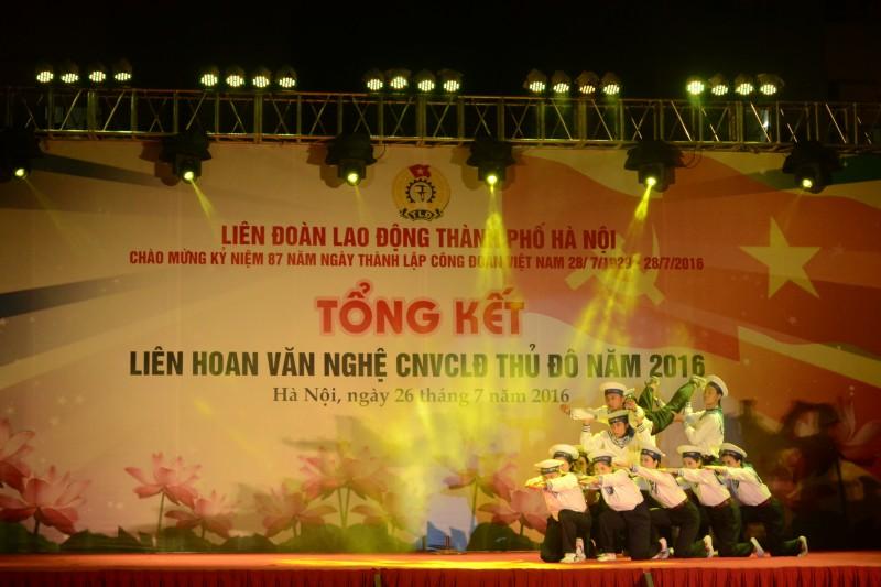 Trao giải Liên hoan văn nghệ CNVCLĐ Thủ đô năm 2016