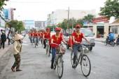 Đạp xe Diễu hành Chương trình Nhận diện hàng Việt Nam – Tự hào hàng Việt Nam 2017