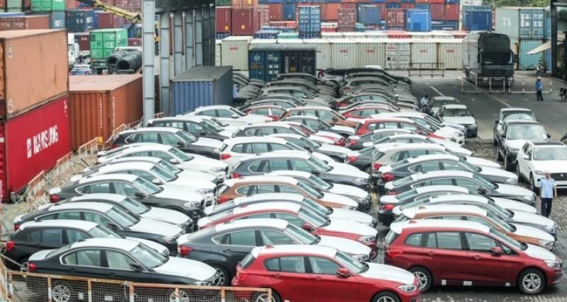 Thái Lan đứng vững vị trí số 1 xuất khẩu xe ô tô vào Việt Nam