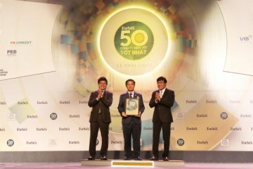 Hòa Bình – Lọt Top 50 Công ty niêm yết tốt nhất Việt Nam 2018