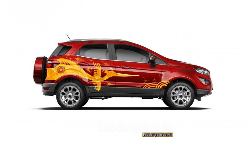 trao giai cho 10 ca nhan xuat sac nhat cuoc thi ford ecosport paint your true color