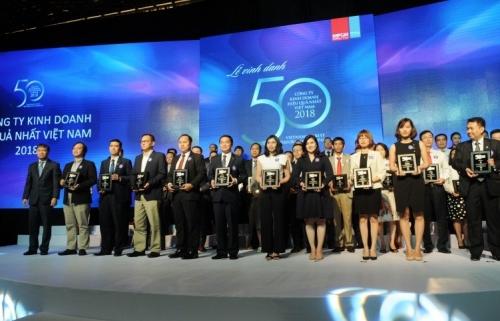 Hòa Bình: Đứng thứ 2 Top 50 Công ty kinh doanh hiệu quả nhất năm 2018