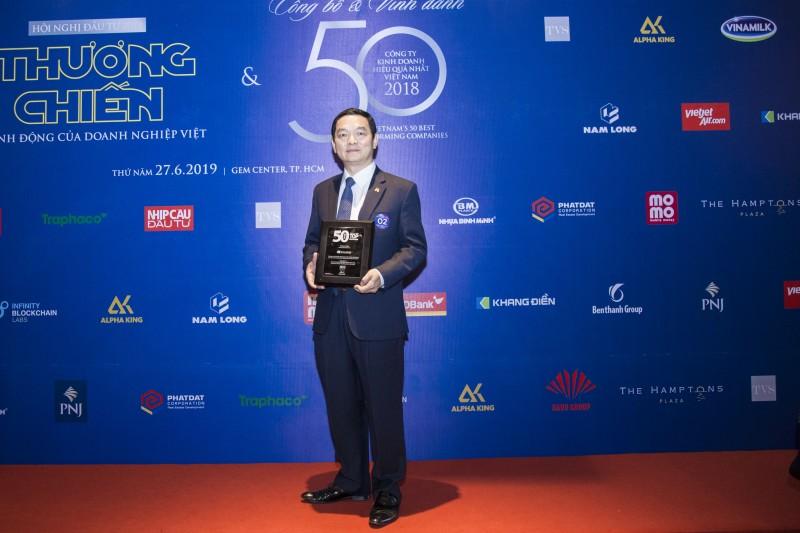 hoa binh dung thu 2 top 50 cong ty kinh doanh hieu qua nhat nam 2018