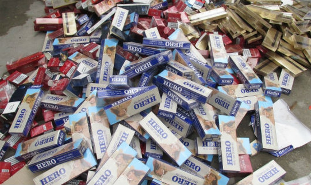 Gần 5,4 triệu bao thuốc lá lậu bị tịch thu trong 4 tháng đầu năm 2020