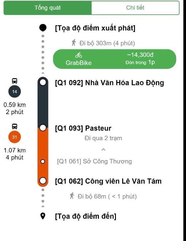 gobus cung cap thong tin van tai hanh khach cong cong tren thiet bi di dong qua ung dung grab 3