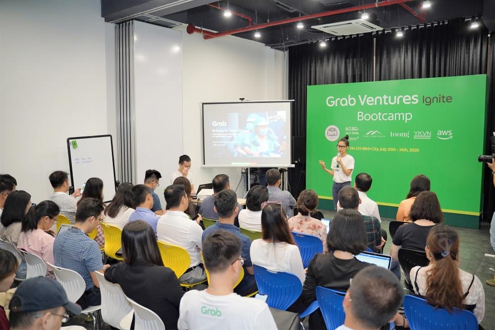 grab chinh thuc khoi dong chuong trinh grab ventures ignite
