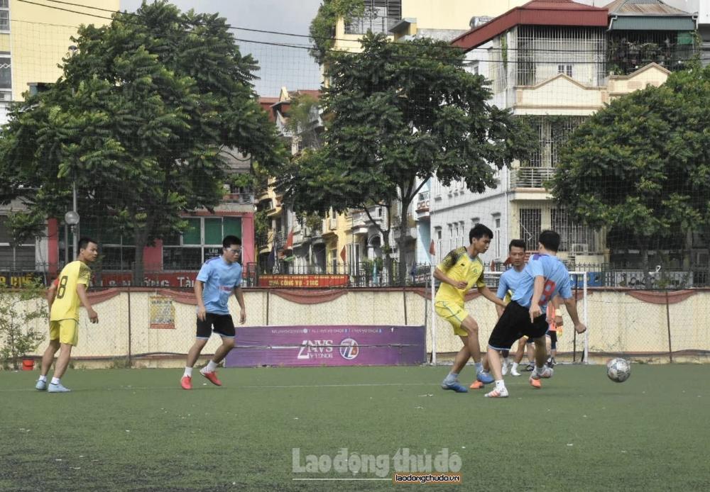 Khai mạc Giải bóng đá trong CNVCLĐ ngành Công Thương Hà Nội năm 2020