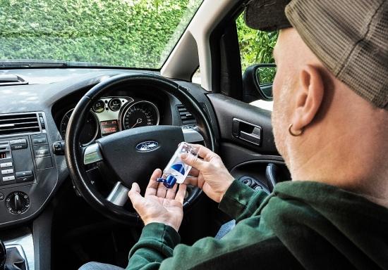 Ford bảo vệ nội thất xe giúp khách hàng an tâm chăm sóc bản thân trong mùa dịch