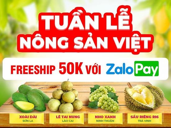 Tuần lễ Nông sản Việt trên sàn thương mại điện tử Sendo
