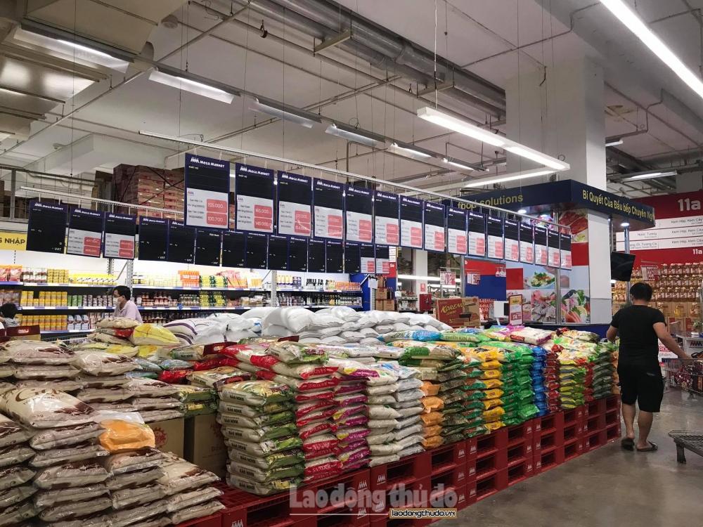 Đảm bảo nguồn cung hàng hóa thiết yếu tại siêu thị, chợ truyền thống ở Hà Nội trong mọi tình huống