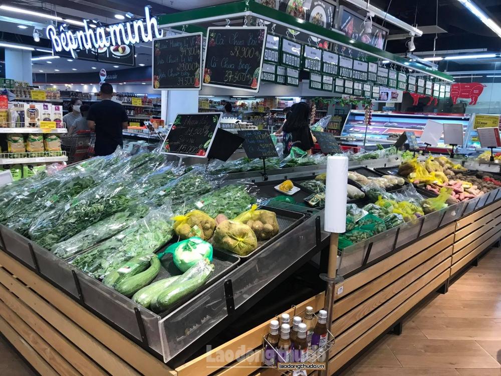 Bán lẻ hàng hóa và dịch vụ tiêu dùng tháng 8 giảm 33,7% so với cùng kỳ năm 2020