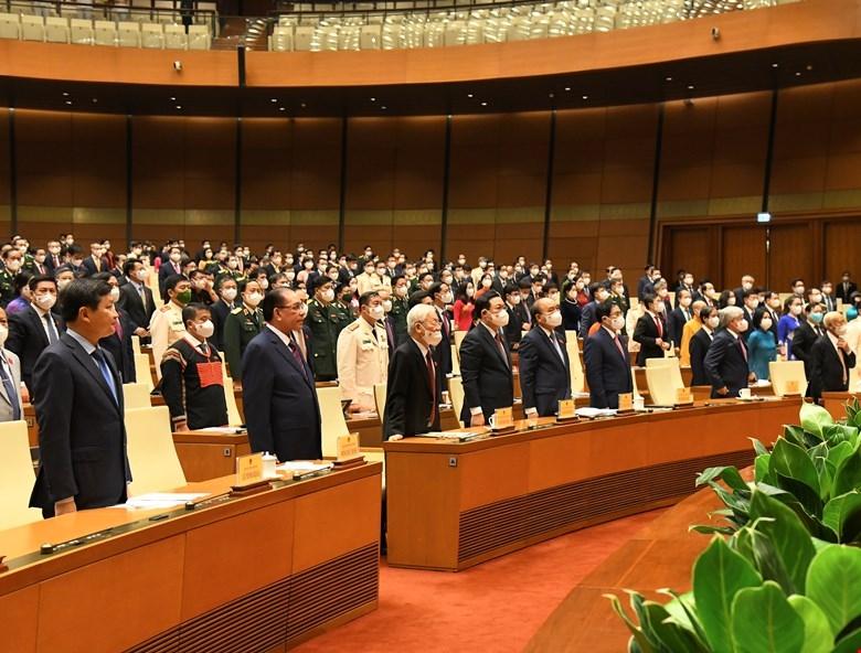 Chính thức khai mạc kỳ họp thứ Nhất, Quốc hội khóa XV
