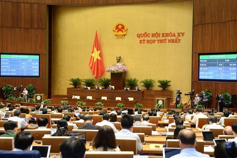 Quốc hội thông qua Nghị quyết phê chuẩn quyết toán ngân sách Nhà nước năm 2019