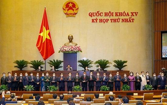 Ra mắt Chính phủ Khóa XV, nhiệm kỳ 2021-2026