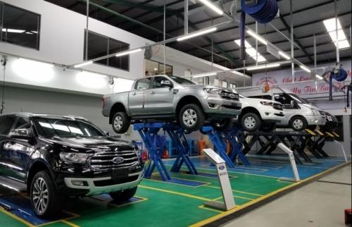 Sản xuất ô tô ước đạt 215,6 nghìn chiếc trong 8 tháng năm 2019