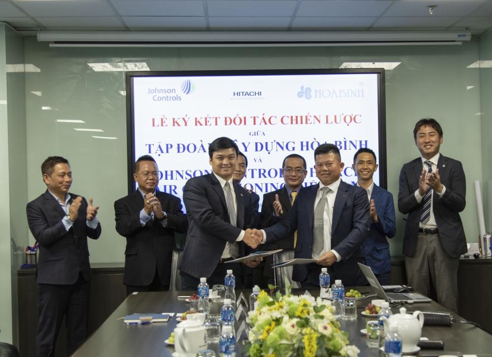 Hòa Bình ký kết hợp tác chiến lược với công ty công nghệ và điện lạnh nổi tiếng