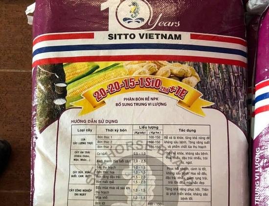 Phạt gần 400 triệu đồng cửa hàng bán phân bón không đúng quy chuẩn kỹ thuật tại Tây Ninh