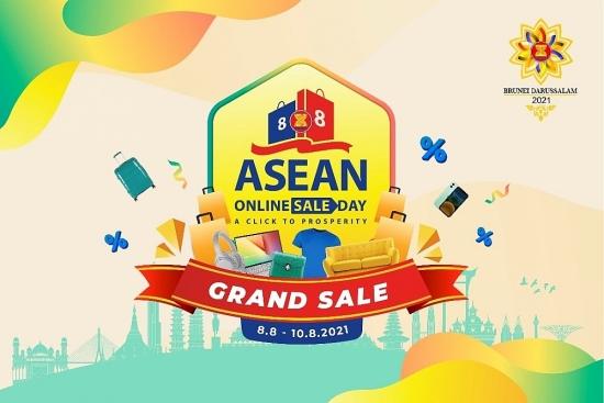 300 doanh nghiệp tham gia Ngày mua sắm trực tuyến ASEAN Online Sale Day 2021