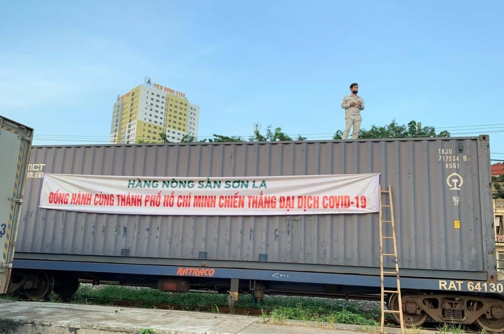 Sơn La hỗ trợ 105 tấn nông sản giúp người dân Thành phố Hồ Chí Minh chống dịch
