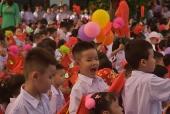 Lễ khai giảng ngắn gọn và vui vẻ tại Trường Tiểu học Đông Ngạc B