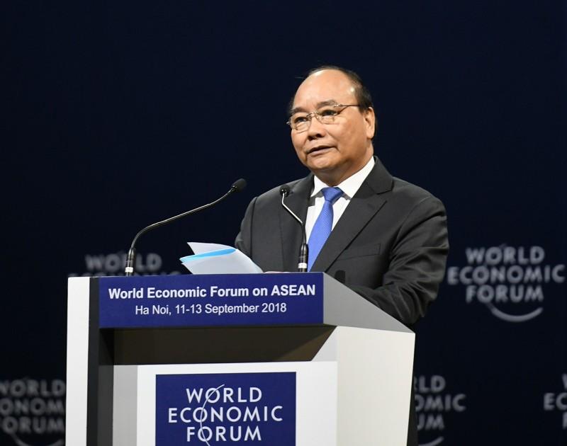 chinh thuc khai mac hoi nghi dien dan kinh te the gioi asean 2018