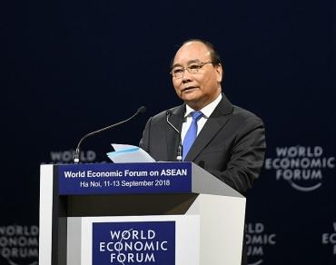 Chính thức khai mạc Hội nghị Diễn đàn Kinh tế thế giới ASEAN 2018
