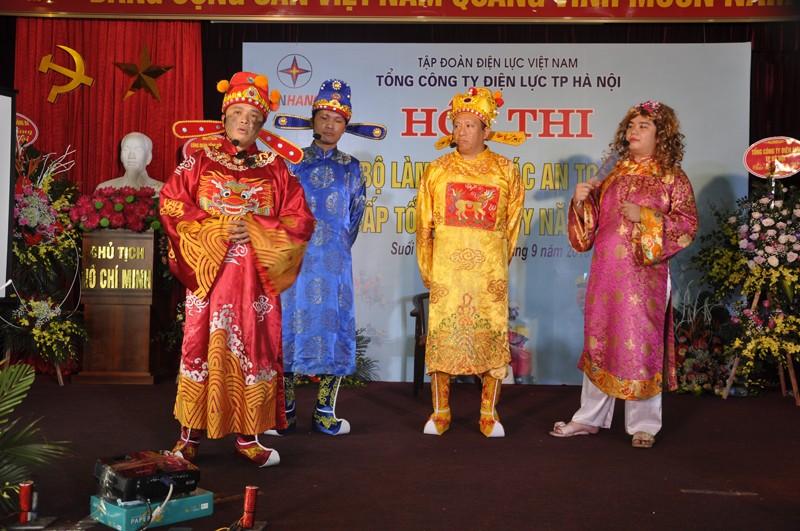 Thiết thực và ý nghĩa từ Hội thi Cán bộ an toàn giỏi EVN Hà Nội 2018