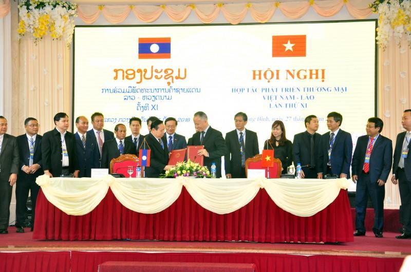 Hội nghị hợp tác phát triển thương mại biên giới Việt Nam - Lào lần thứ XI