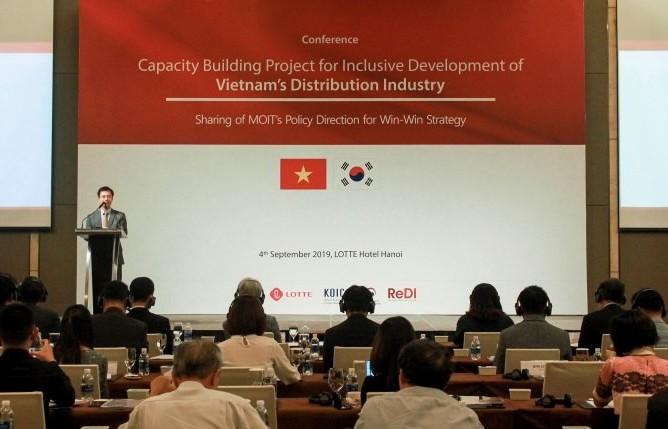 Hợp tác win - win trong ngành phân phối giữa Việt Nam và Hàn Quốc