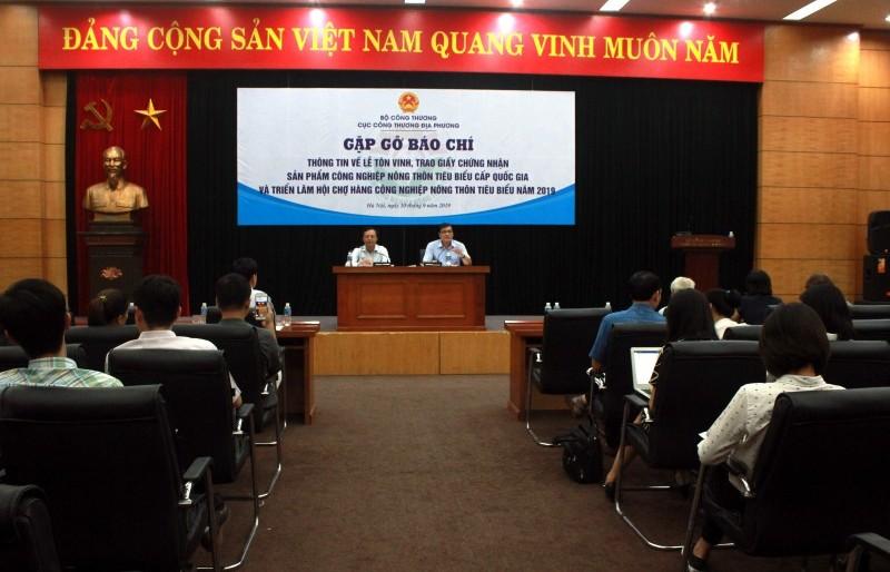 Vinh danh 110 sản phẩm công nghiệp nông thôn tại Hoàng thành Thăng Long