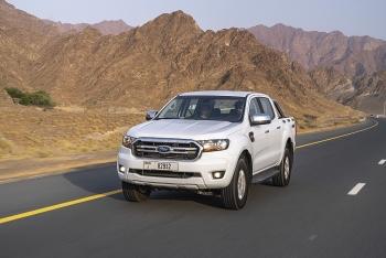 Ford Ranger chinh phục hơn 1.259km đường trường với một bình nhiên liệu