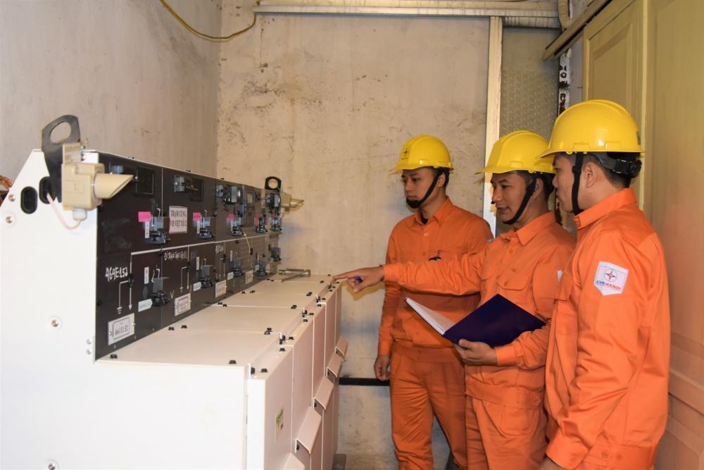 Đảm bảo cấp điện an toàn trong thời gian diễn ra Đại hội Đảng bộ Thành phố