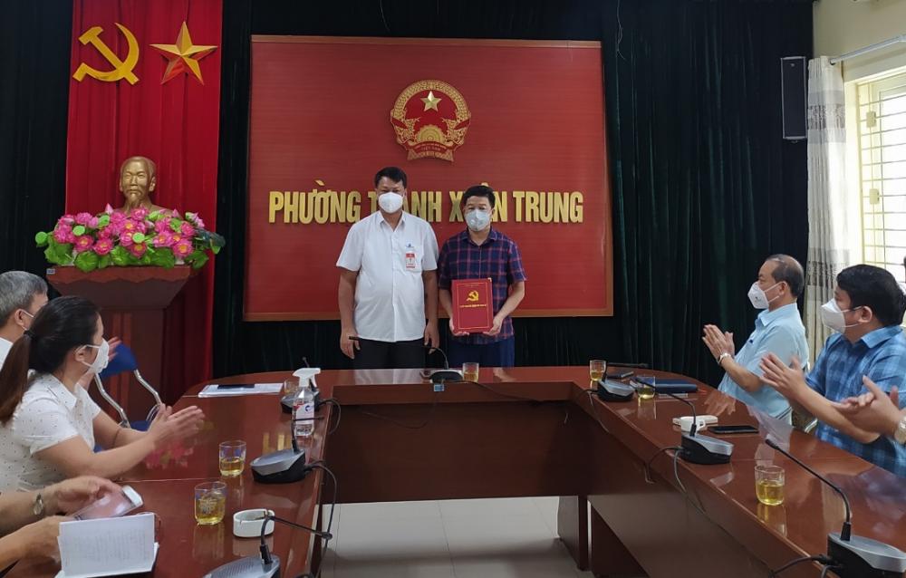 Phường Thanh Xuân Trung, quận Thanh Xuân đã có Bí thư mới