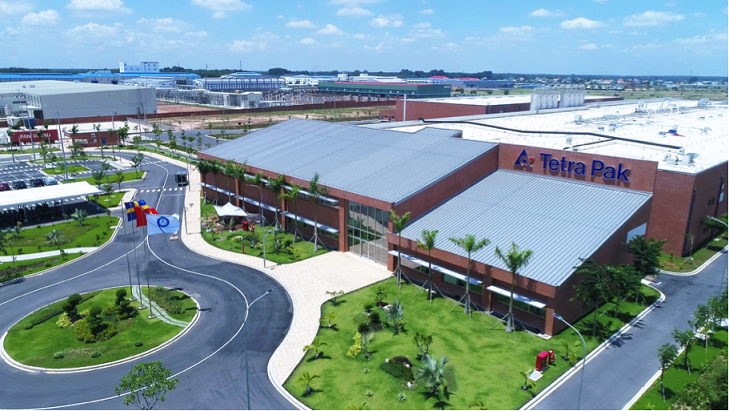 Tetra Pak đầu tư thêm 5 triệu euro mở rộng nhà máy sản xuất tại Bình Dương