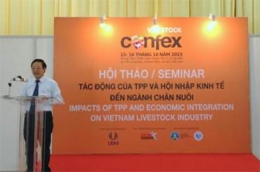 Tác động của TPP và hội nhập kinh tế tới ngành chăn nuôi Việt Nam