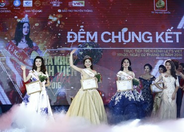 Hồ Ái Thơ đạt danh hiệu Hoa khôi Imiss Thăng Long 2016